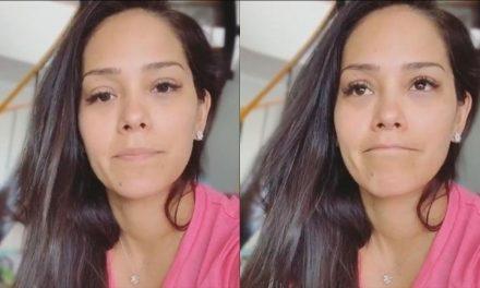 Karen Schwarz y Ezio Oliva sufrieron un accidente de tránsito en la Panamericana Sur
